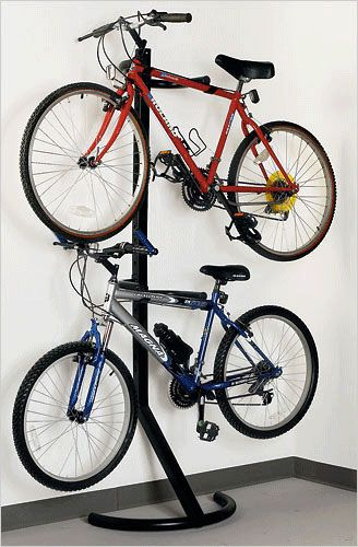 вешалка-стойка для 2 велосипедов