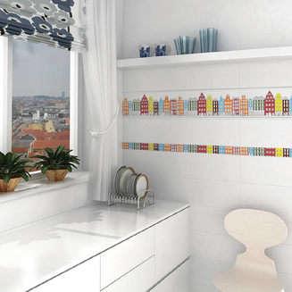 Плитка для ванной Kerama Marazzi Стокгольм