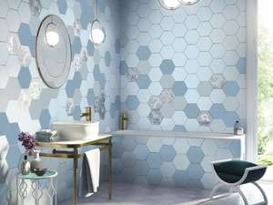 Плитка для ванной Kerama Marazzi Аньет