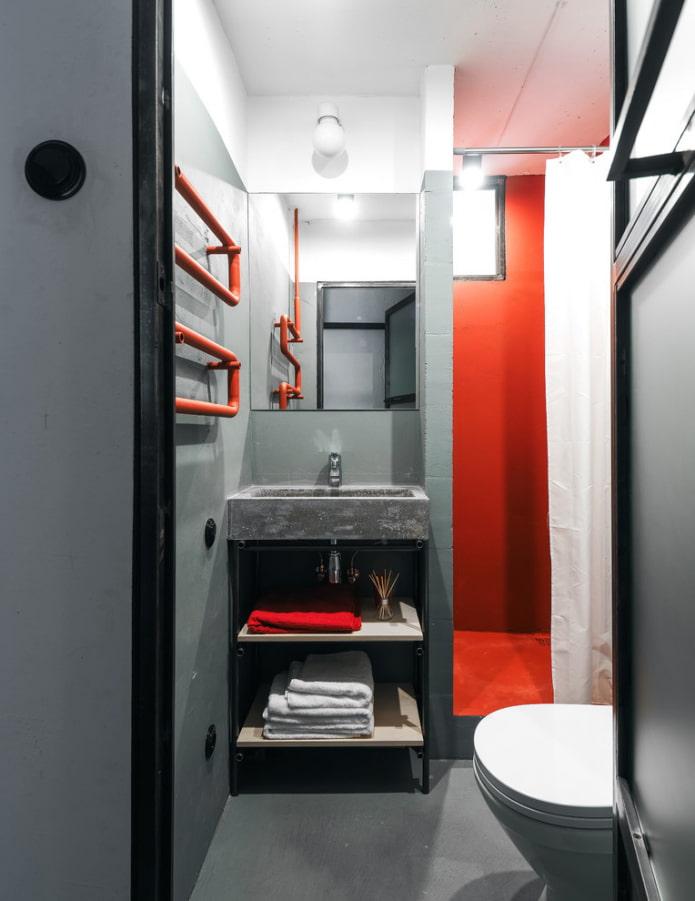 системы хранения в ванной в квартире хрущевке