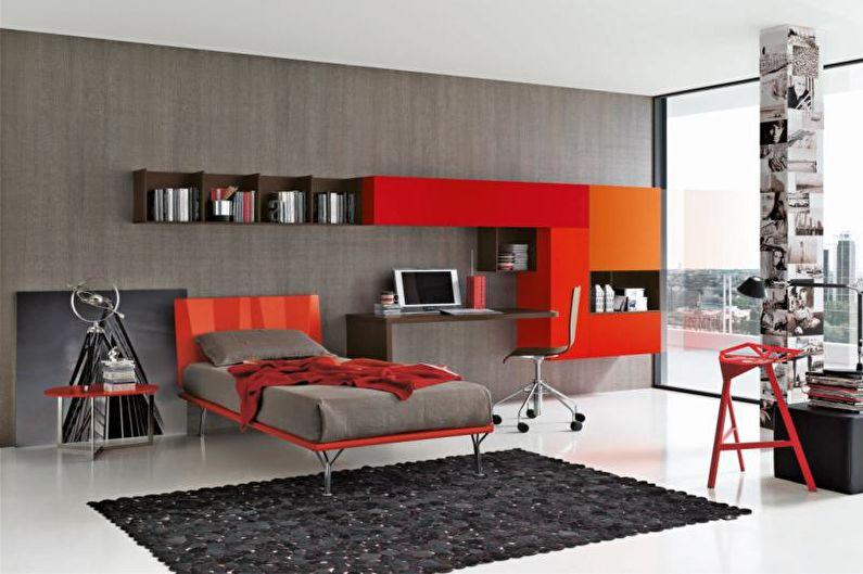 Дизайн комнаты для подростка - Эргономика мебели