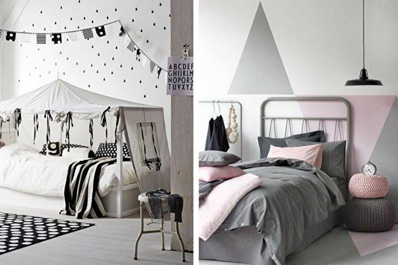 Дизайн комнаты для подростка - Влияние цветов