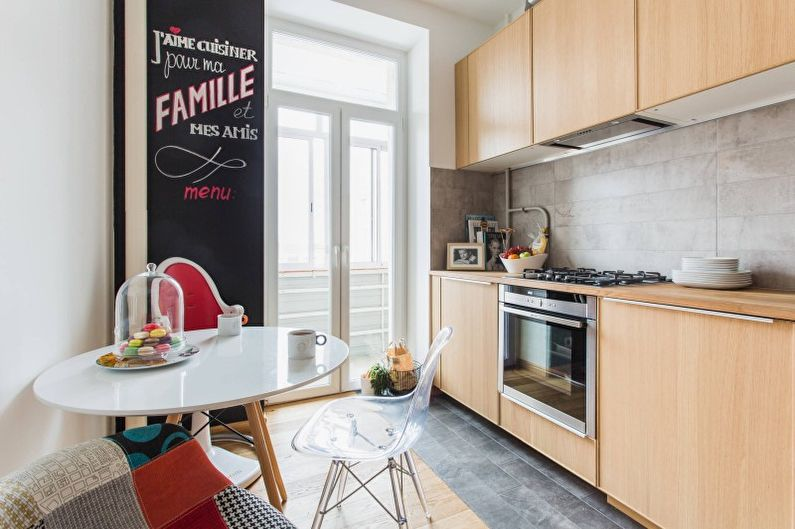 Дизайн кухни в современном стиле - Отделка пола