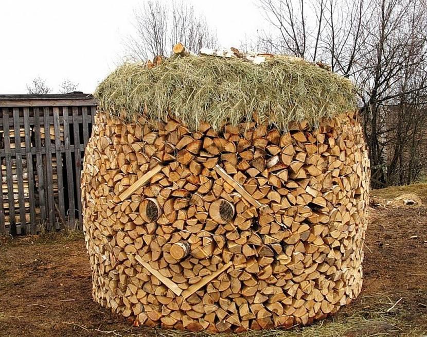 дровяник на даче