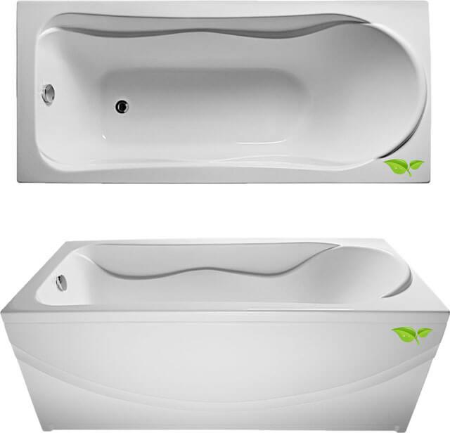 Размеры ванны, изготовленной из разных материалов и важные нюансы