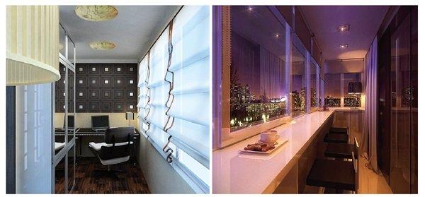 Переделываем балкон в комфортную комнату 35 фото