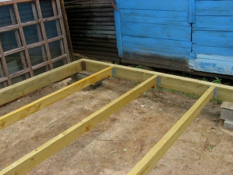 Фото как строить обвязку вагончика
