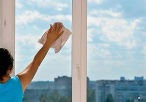 как помыть окна на лоджии