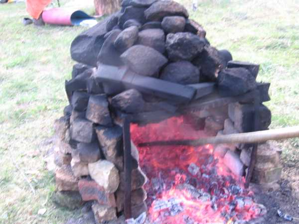 Печь-каменка