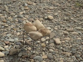 Небольшая сварная конструкция для походной бани