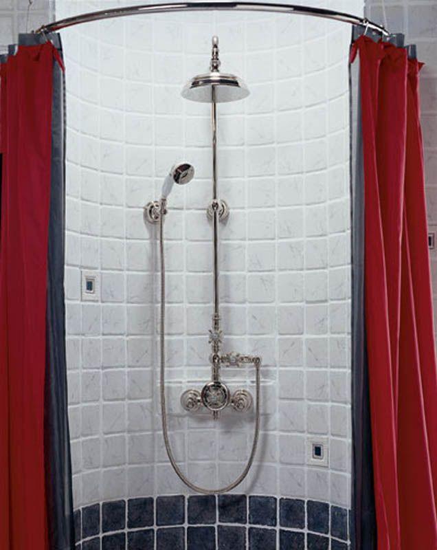 Настенный душ сосмесителем