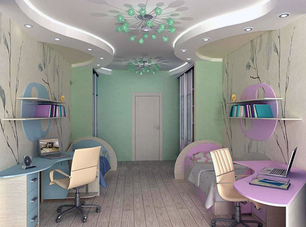 Комната для разнополых подростков