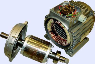 Асинхронный трехфазный двигатель
