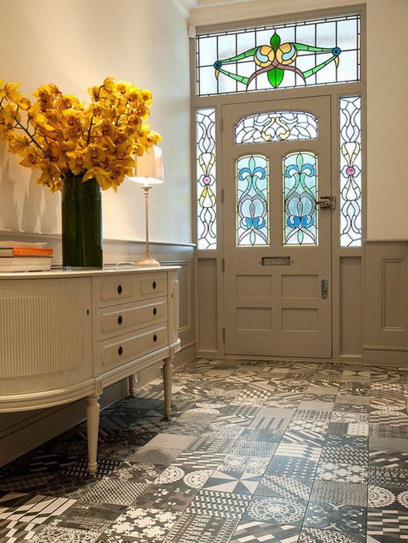 Плитка на пол для коридора и кухни: фото, советы по выбору