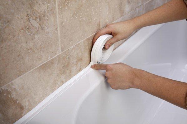 гибкий уголок для ванны