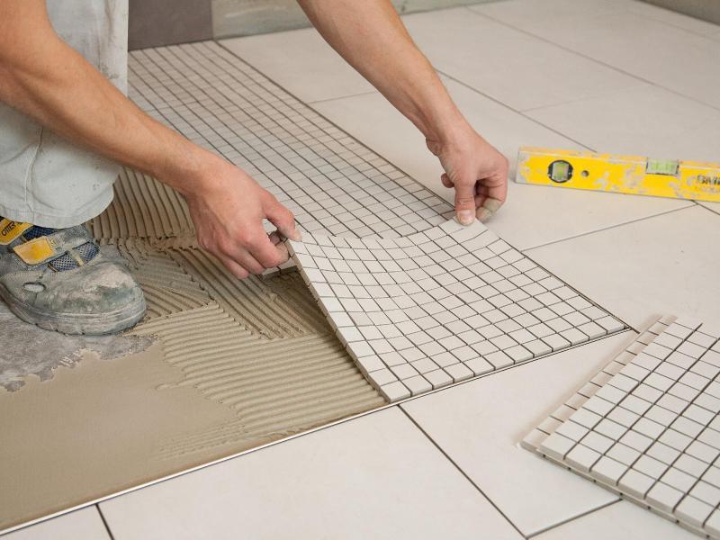 Самостоятельная укладка мозаики на сетке