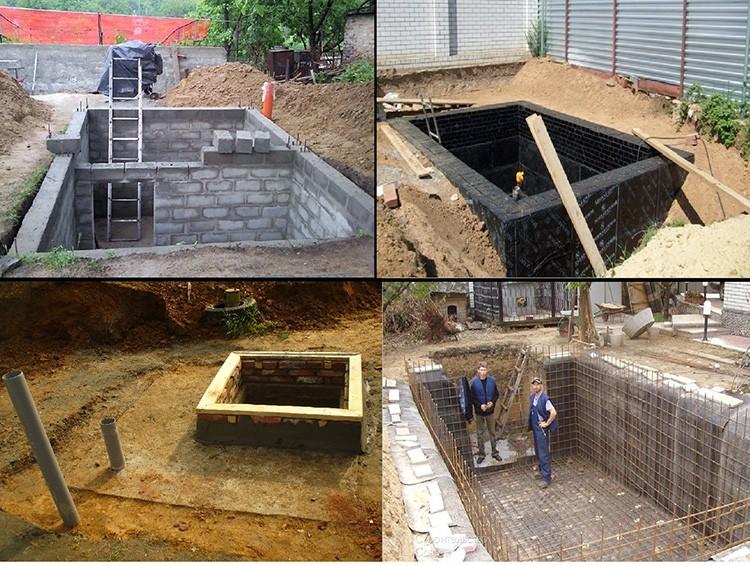 Чтобы построить подземное сооружение своими руками, следует тщательно подготовиться