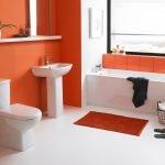 Отделка ванной комнаты водоэмульсионной краской