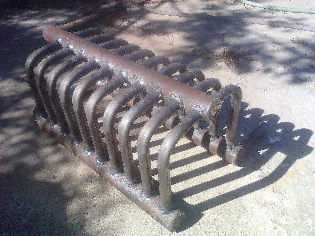 теплообменник из стальных труб