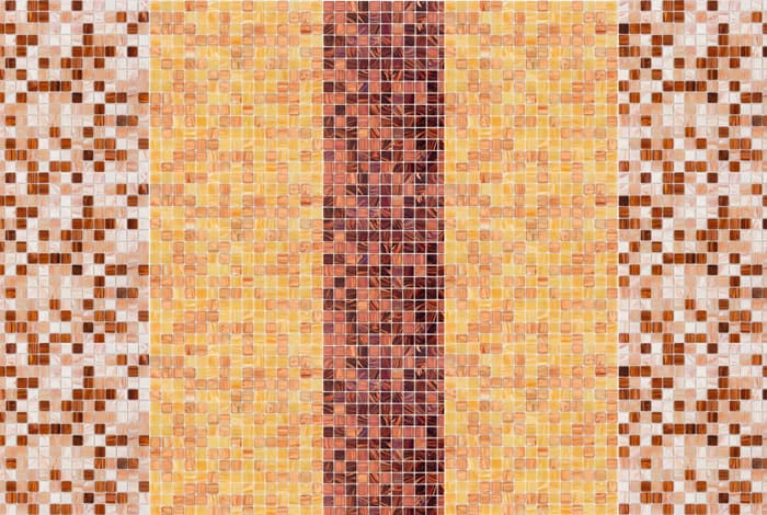 Смальтовая плиточная мозаика для ванной