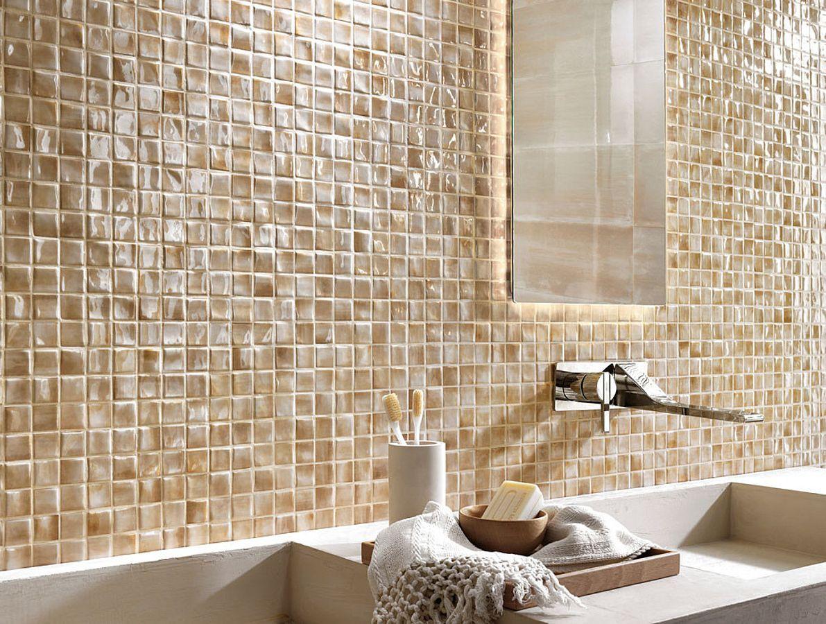 Каменная мозаика в интерьере