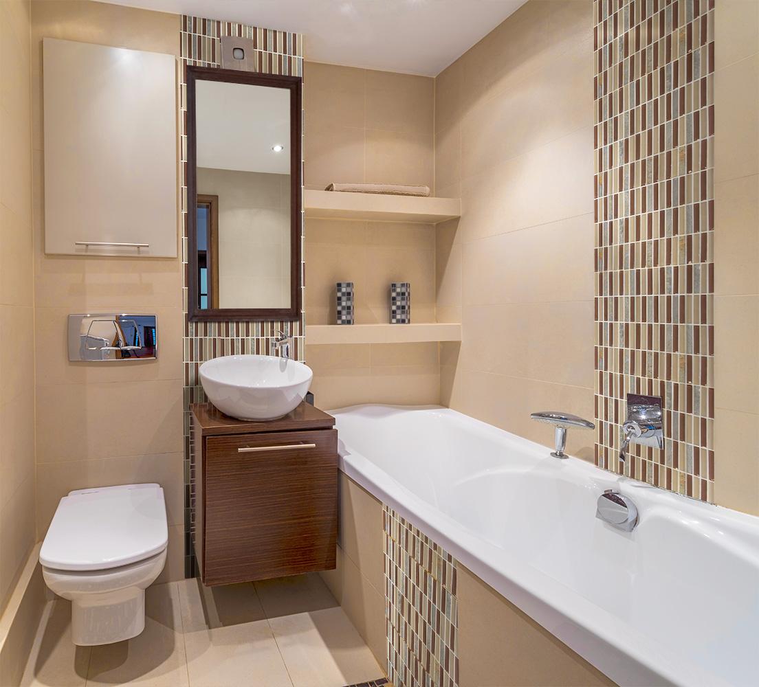 новая ванная комната в хрущевке