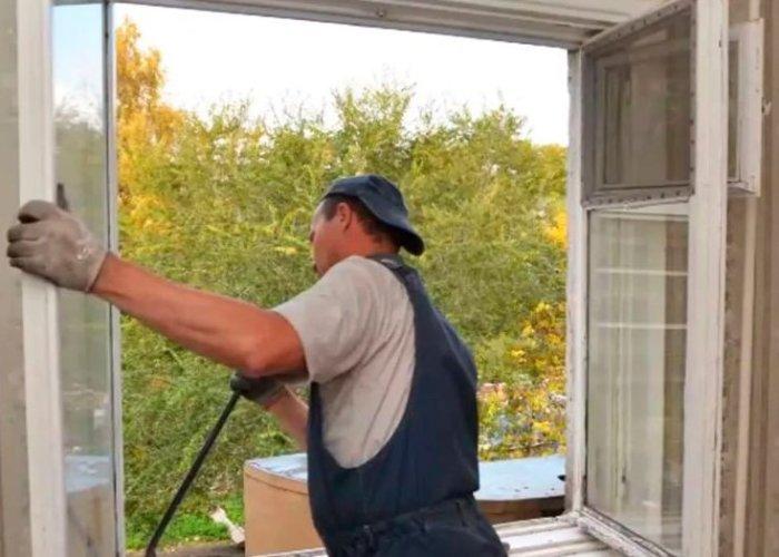 картинка снятие деревянных окон