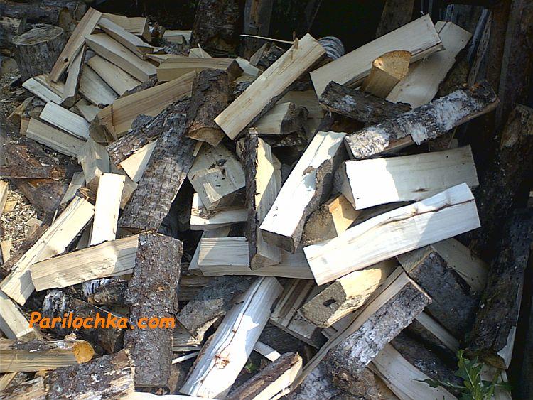 дрова осиновые колотые
