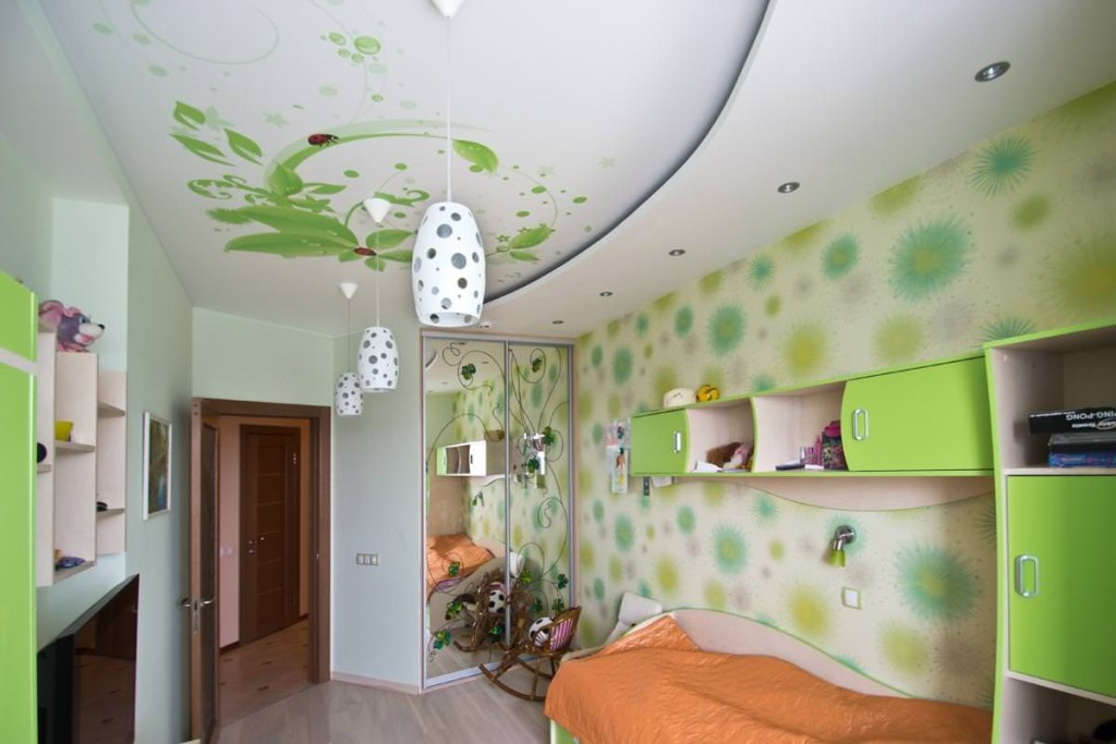Декорирование спальной комнаты для девочки школьницы