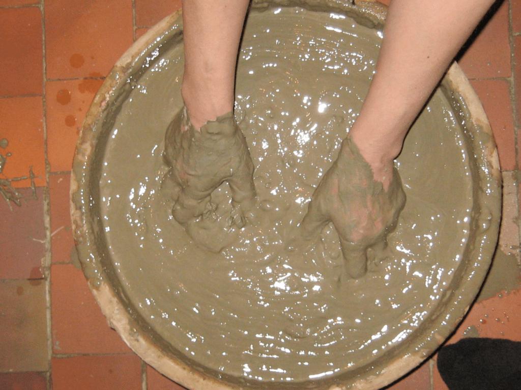 штукатурка из глины