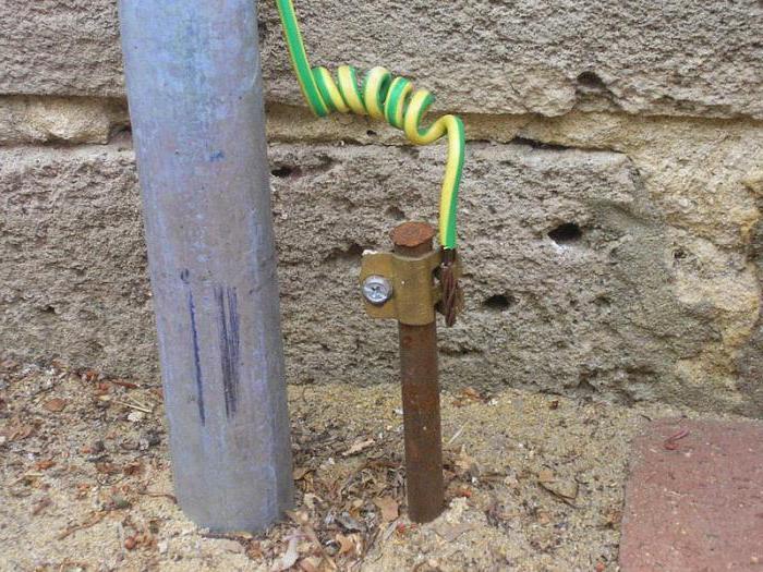 Заземляющее устройство нормализует напряжение в доме