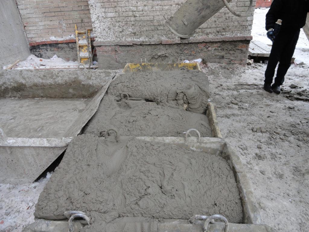 Влажности при наборе прочности бетона