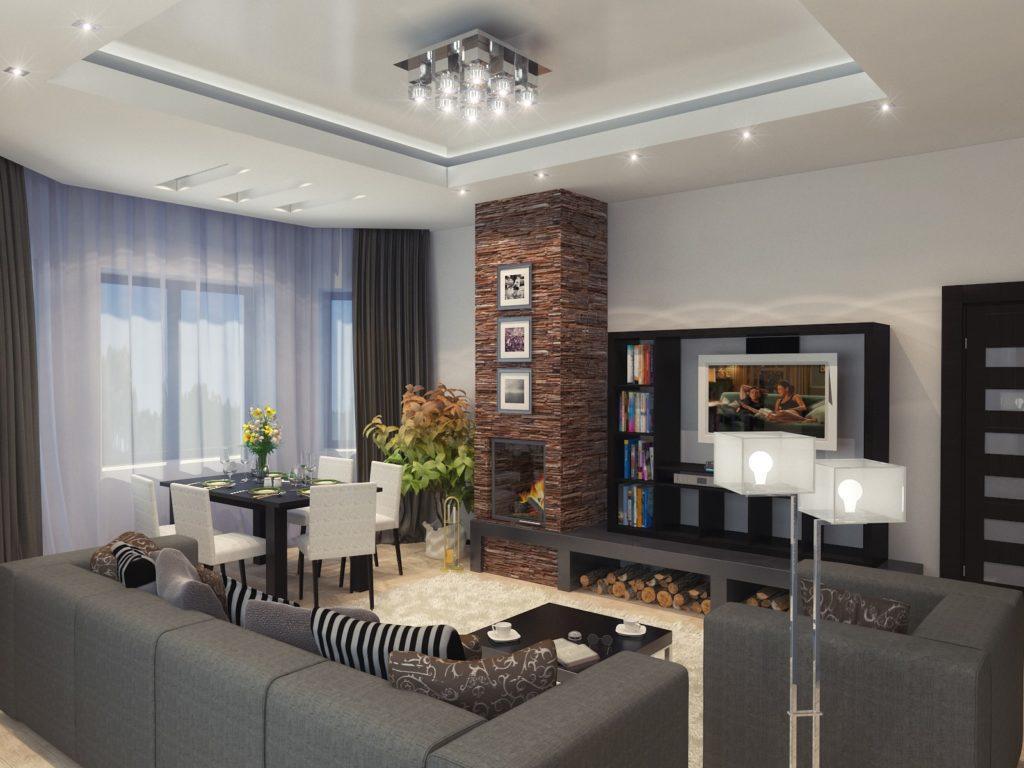 Нормы СНИП для гостиной частного дома