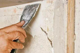 Очищение стенок печи перед штукатуркой