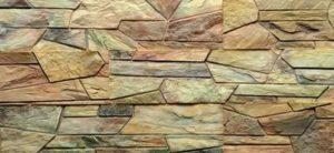 Орнамент из декоративного камня