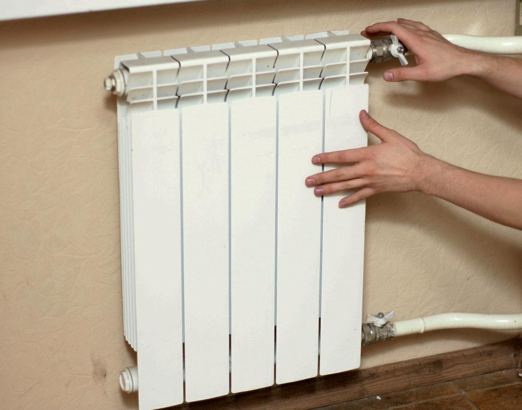 Кран Маевского на радиаторе отопления