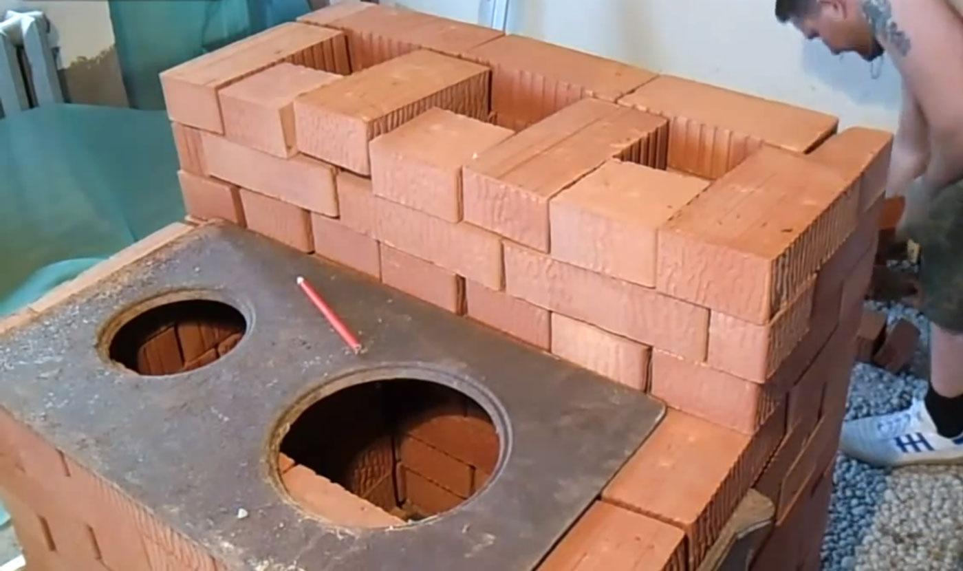 строим печи своими руками