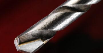 Заточка победитового сверла по металлу