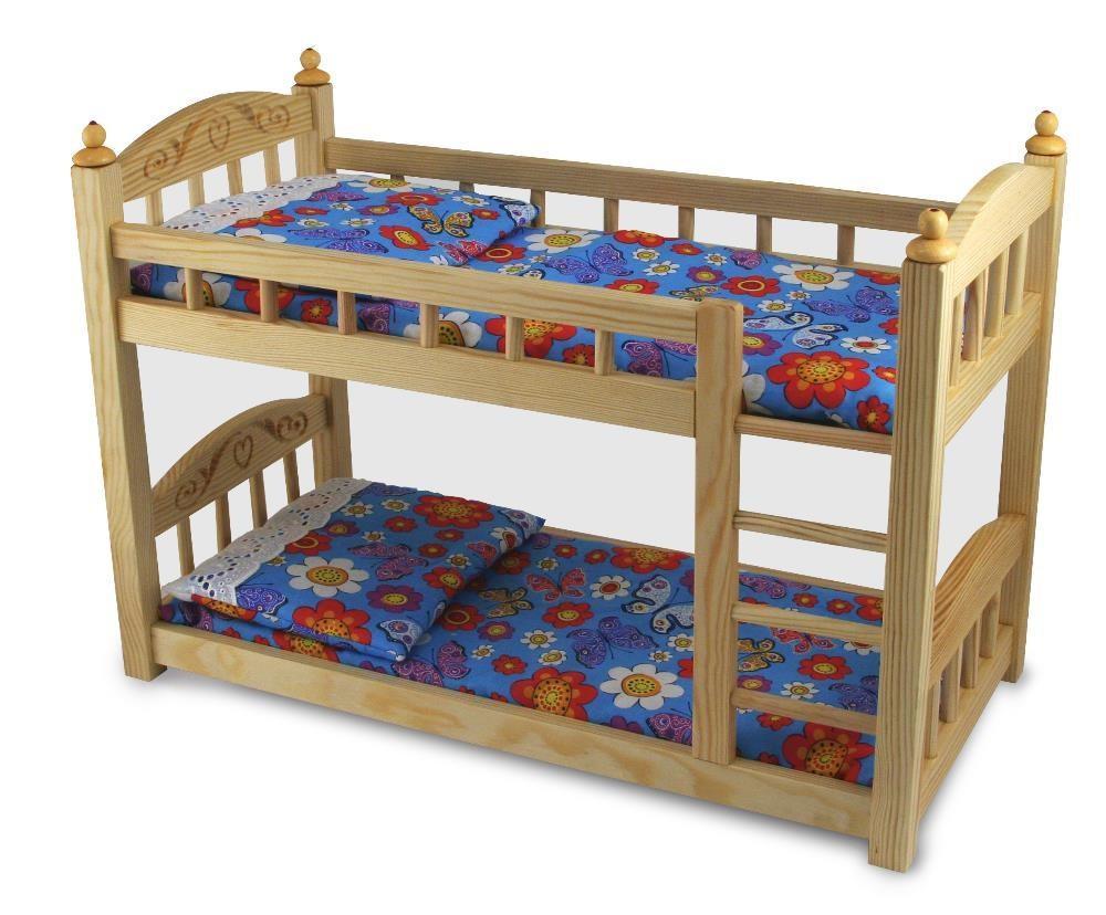 Двухъярусная кровать из фанеры
