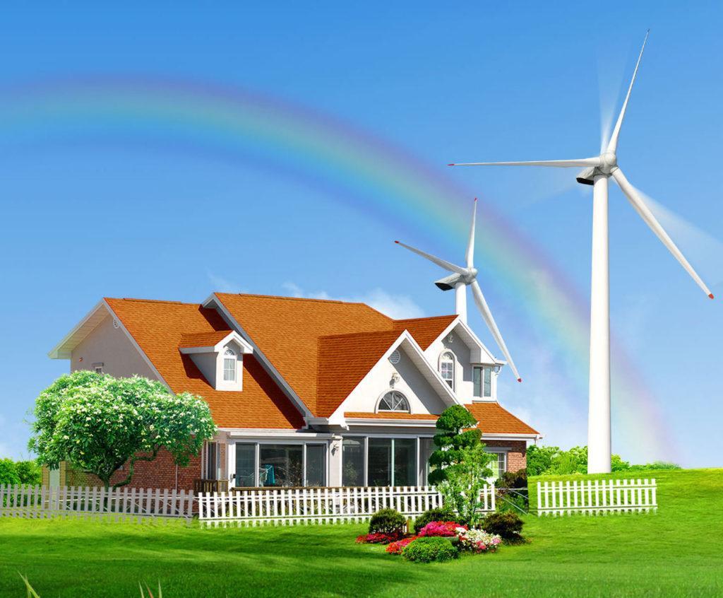 Ветряной электрогенератор для дома