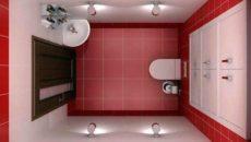 Дизайн маленького туалета вид сверху