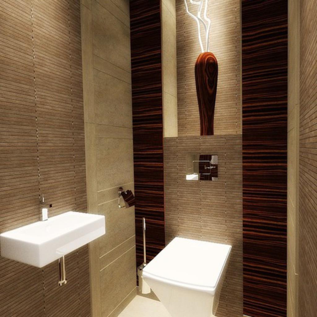 Дизайн туалета 1 квадратный метр