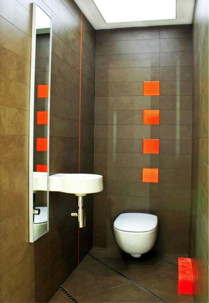Дизайн небольшого туалета