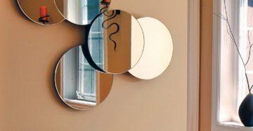 Крепление зеркала с серебряной амальгамой