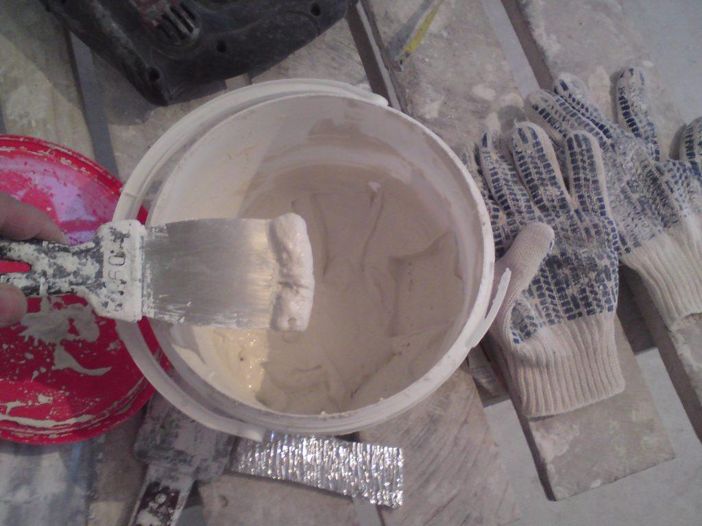Сухой клей для пенопласта